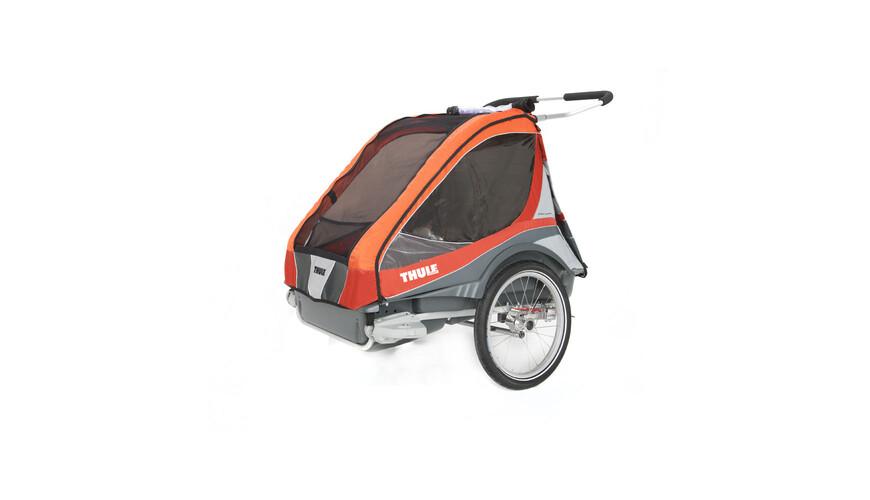 Thule Captain 2 - Remorque vélo - gris/orange